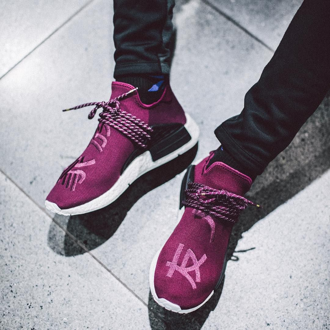 Adidas NMD Human Race Friends and Family Pink