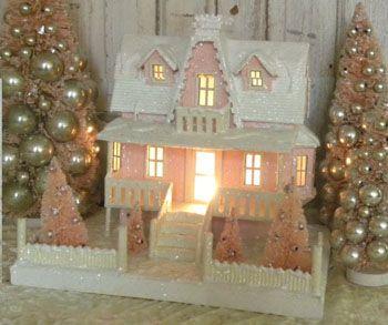 Pink Putz House - love it!