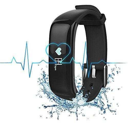 H-Band Fitness Tracker Smart Wristband, App - IP67 Water