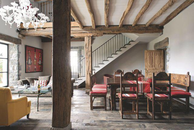 Maison de famille au Pays basque  une ancienne ferme rénovée avec - renovation maison ancienne photos