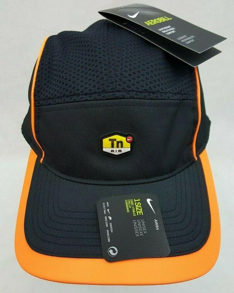 best website f4612 b57a0 Nike Sportswear TN Air Aerobill AW84 Reflective Running Hat Cap Black  913012-013  Nike