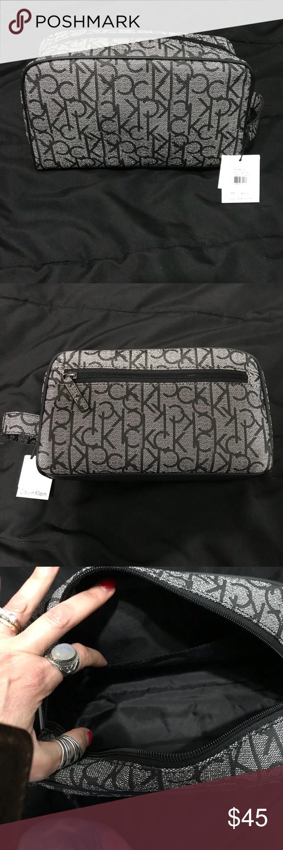 7682649187 Calvin Klein toiletry bag travel bag Calvin Klein toiletry bag