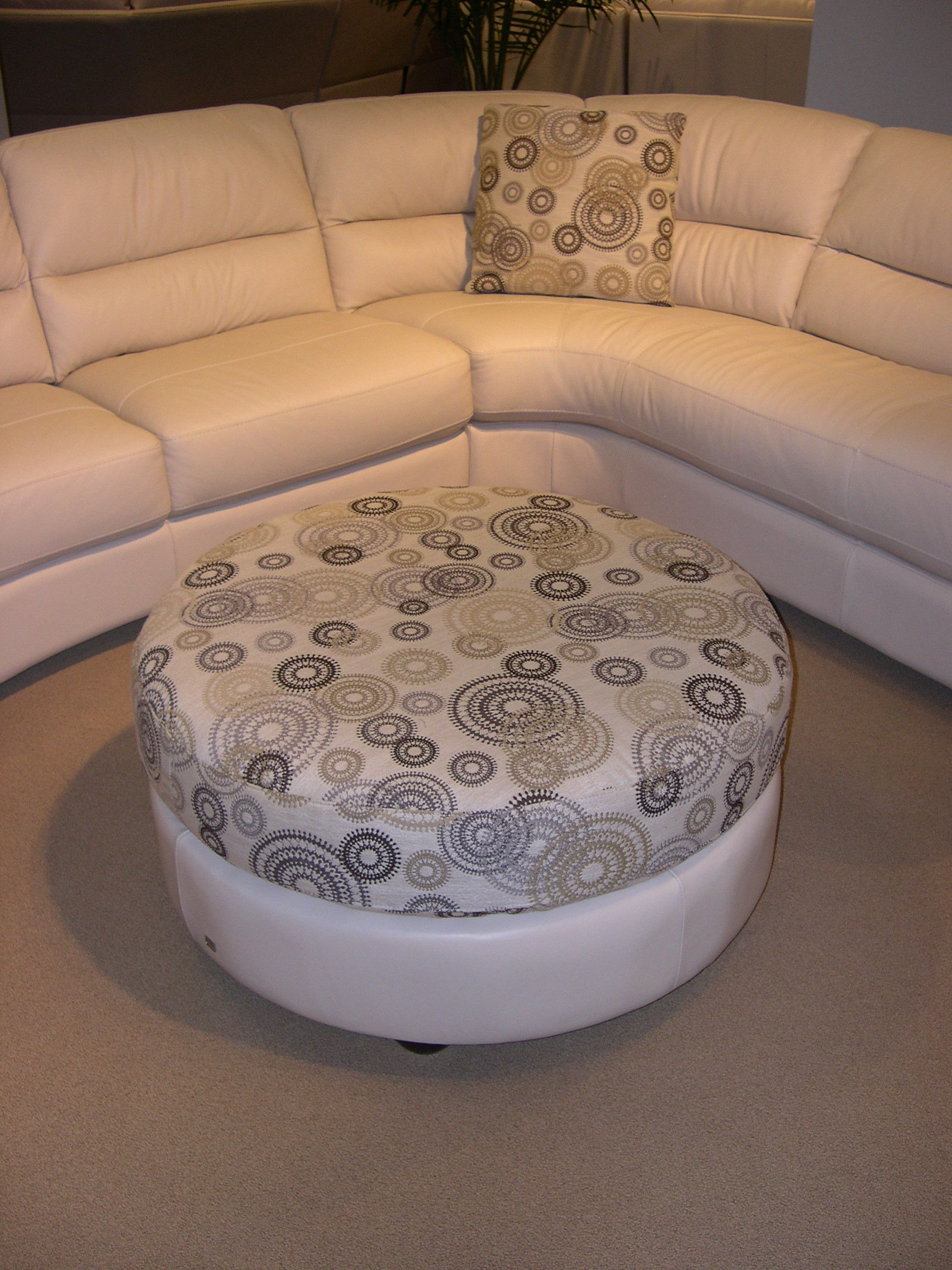 htl sofa range diy murphy bed over leather sectional with round ottoman and accent pillows perfect for urban side of portland