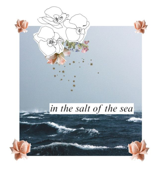 """""""the sea"""" by cotton-clouds ❤ liked on Polyvore featuring art"""