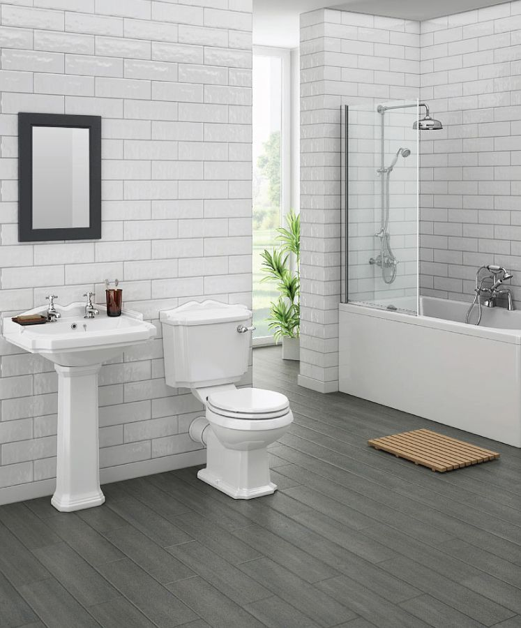 Legend Traditional Bathroom Suite At Victorian Plumbing Uk With