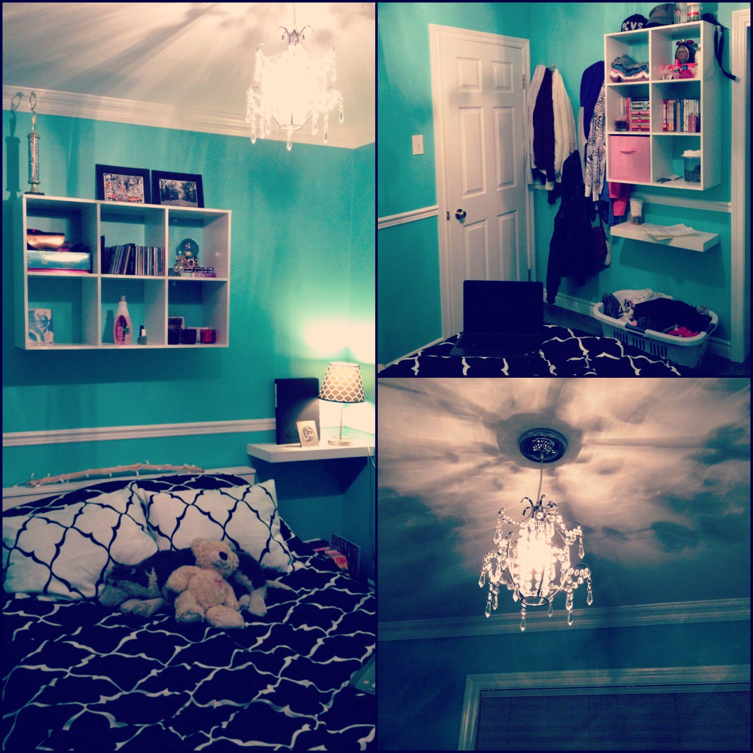 Tiffany & Co. inspired bedroom! | Home Inspiration | Pinterest ...