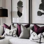 43The Most Neglected Answer for Grey Bedroom with Pop of Color Purple Colour Sc #graybedroomwithpopofcolor