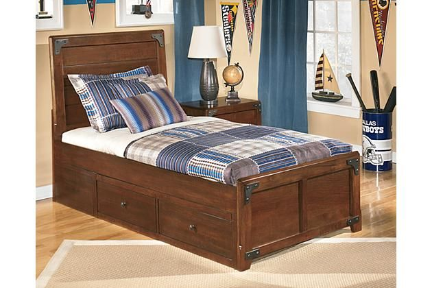 Best Ashley Delburne Twin Panel Bed With Storage Apk B362 Tps 640 x 480