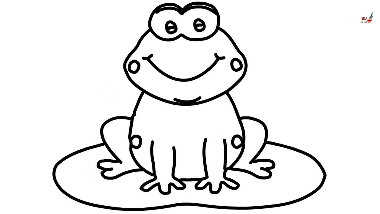 Draw Children Animals Frog Google Search With Images Frog