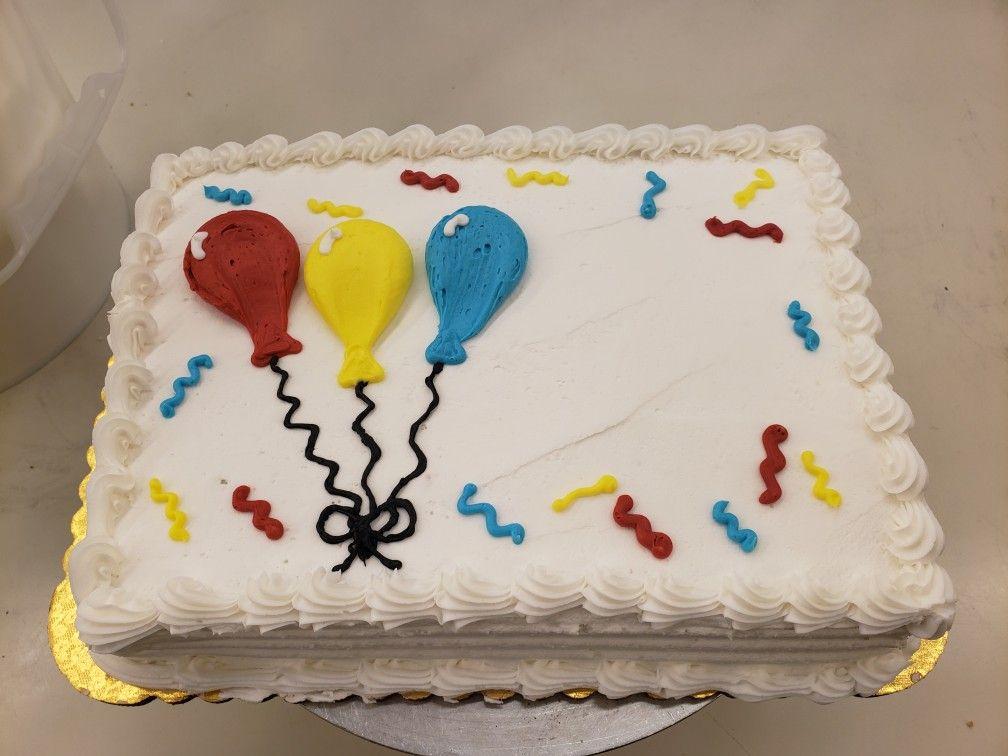Pin By Mandi Kucharz On 1 4 Sheet Cake Case Birthday Sheet Cakes Sheet Cake Designs Birthday Cake Decorating