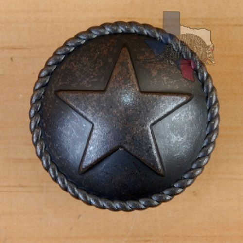 Western Star Knob Hardware Cabinet Knobs Drawer Pull Texas Western Gift  CP207ORB