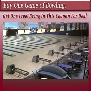 Bowling Alley Fargo Nd The Bowler Bowling Player Buy One Game Of Bowling Get One Free Bring In This Coupon For Deal Bowling Bowling Player Get One