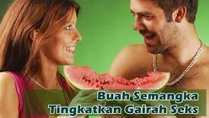 Buah semangka juga diklaim sebagai Viagra alami, karena dapat membuat Mr P keras saat ereksi. Ini disebabkan oleh kandungan asam amino yang disebut L-citrulline. Asam amino ini meningkatkan aliran darah ke Mr P dengan memproduksi oksida nitrat dalam tubuh.