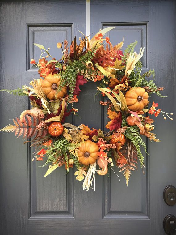 Your place to buy and sell all things handmade #fallwreaths