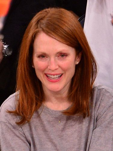 Julianne Moore Goes Shorter For Spring With Chic Long Bob