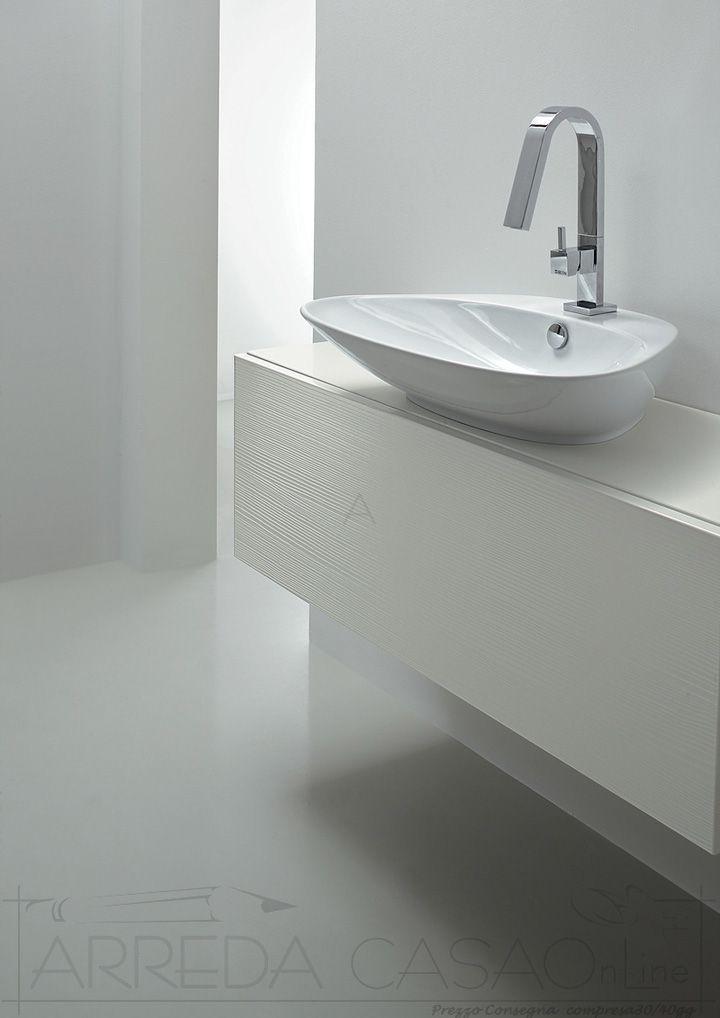Arredo Bagno design mensole su misura Kar29 | Prezzo ...