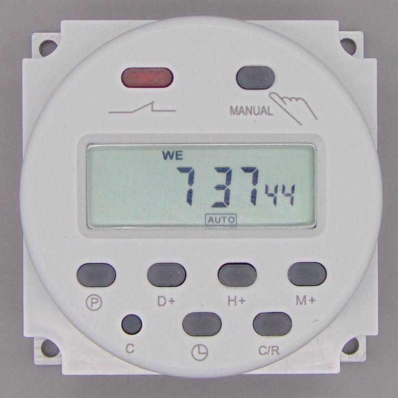 OKtimer CN101A AC 220 볼트 230 볼트 240 볼트 디지털 LCD 전원 타이머 프로그램 시간 스위치 릴레이 16A 타이머 CN101 타이머
