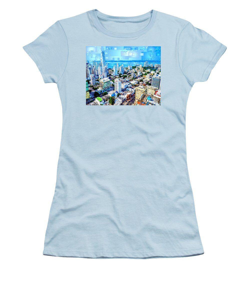 Women's T-Shirt (Junior Cut) - Cartagena, Colombia