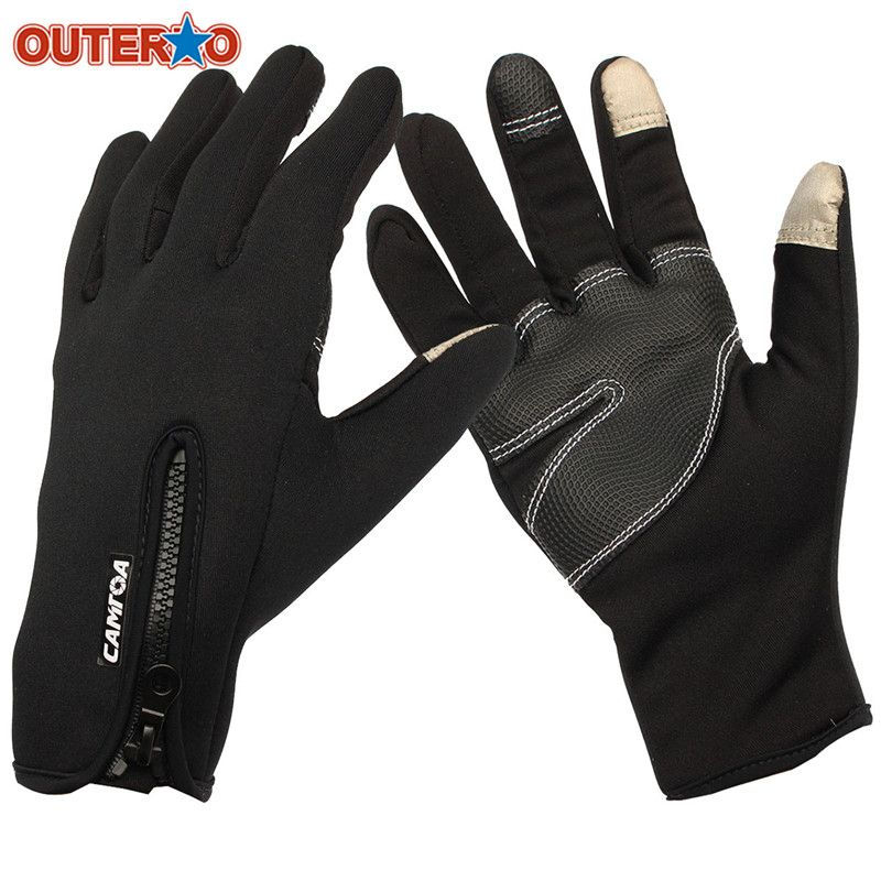 CYCLING BIKE SKI MOTORCYCLE STOP WIND TOUCH SCREEN COLD WEATHER WINTER GLOVES