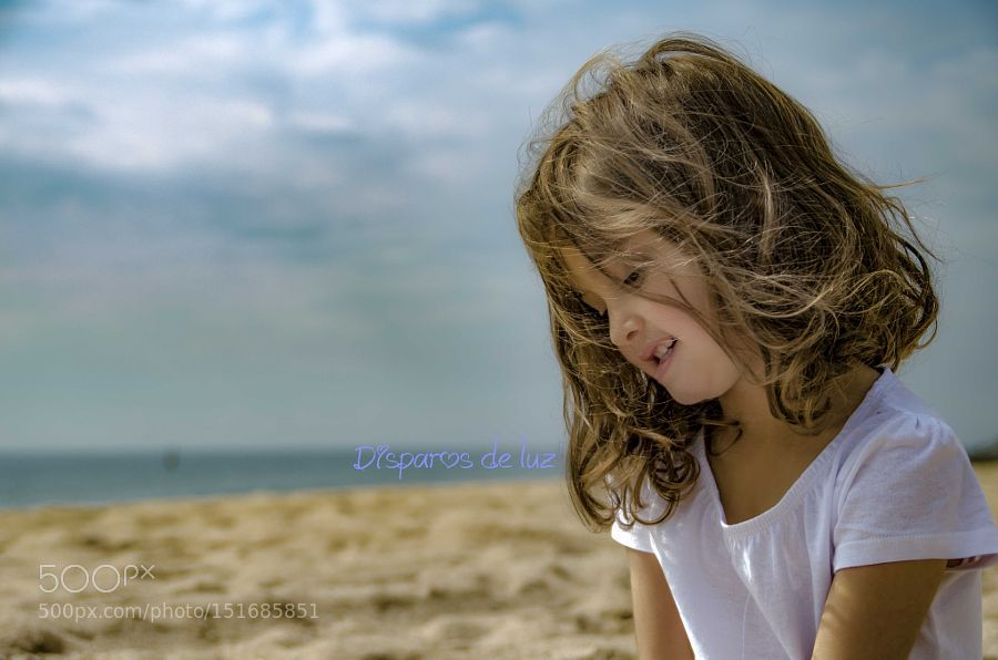 In the beach....... by AkashaJuegosMusica Family Photography #InfluentialLime