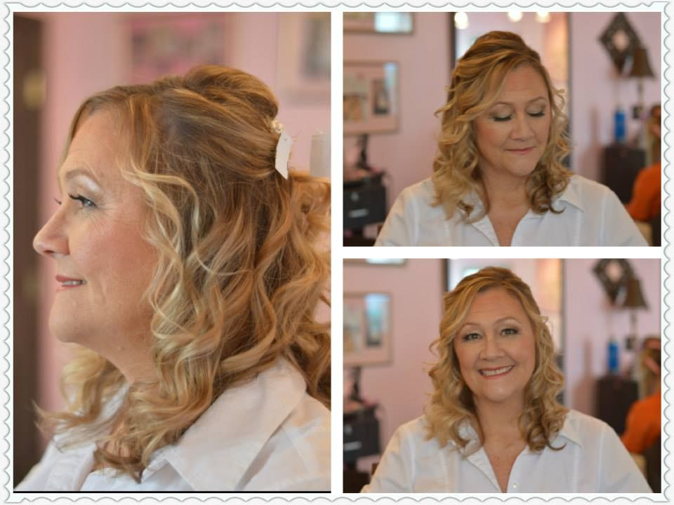 Mother Of The Bride Hair, Wedding Hairstyles, Half Up Half