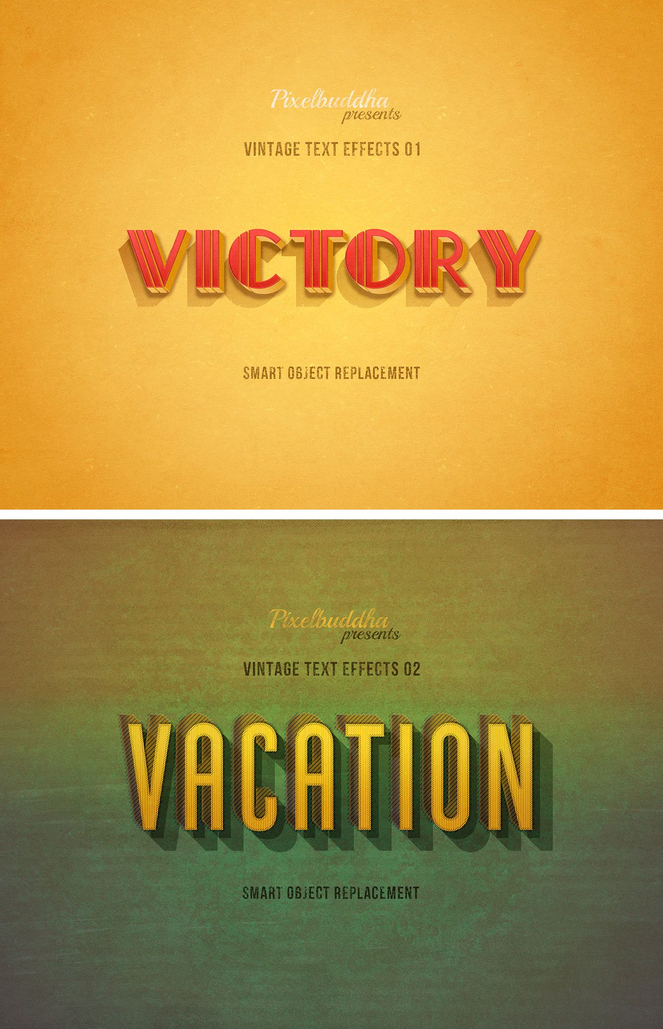 Authentic Vintage Text Effects Vintage Text Text Effects Text