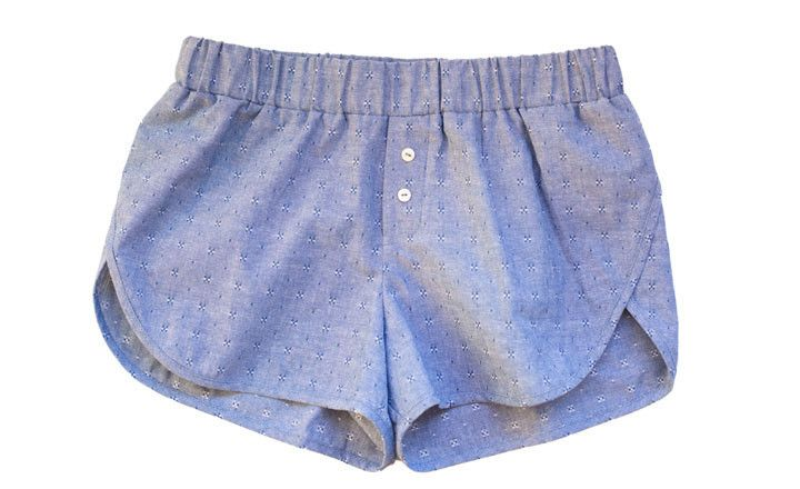 I love these Brigitte chambray shorts by Atelier Delphine...