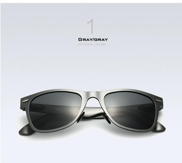 VEITHDIA Brand Designer Classic Designer Men Polarized Lens Women  Sunglasses Square Sun Glasses Eyeglasses oculos de sol For Men a9352b259a