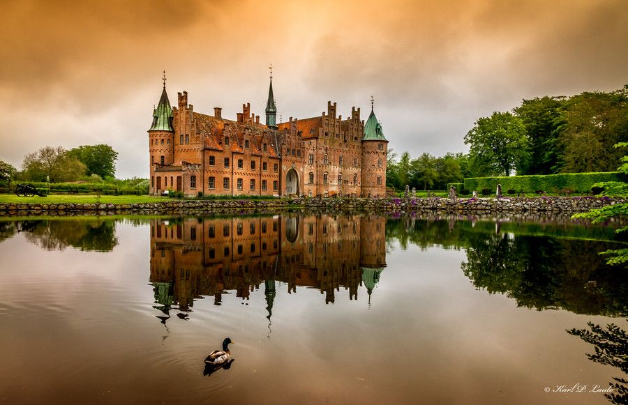 Egeskov Castle by Karl P. Laulo on 500px