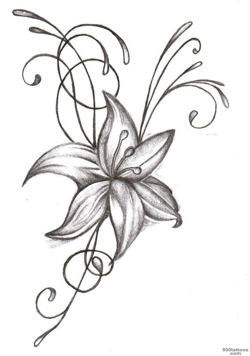Tribal Floral Tattoo Sample Tattoobite28g Adult Coloring