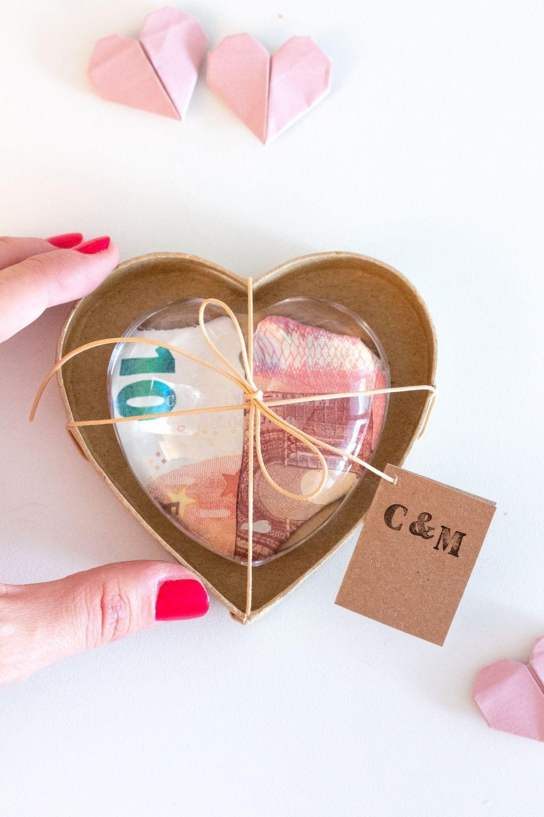 Drei Wunderschone Diy Geldgeschenke Zur Hochzeit Geldgeschenke