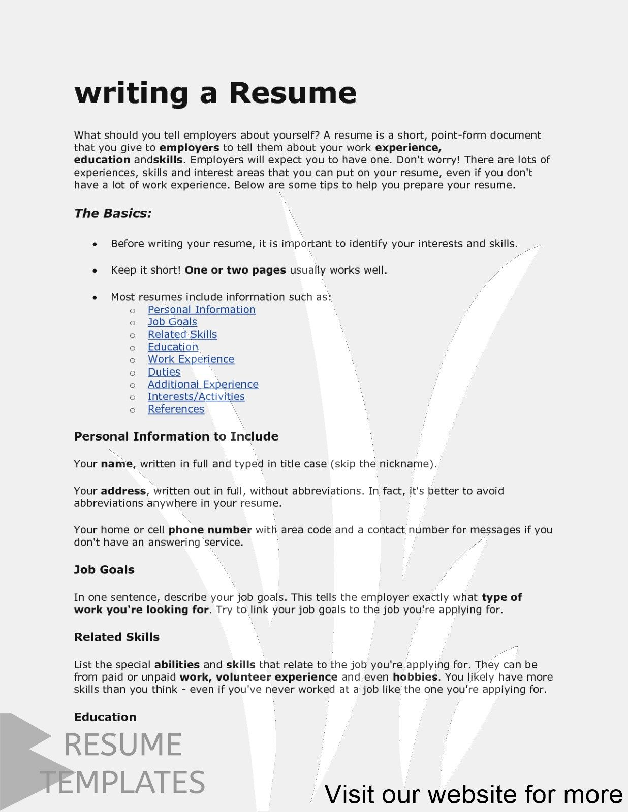 resume template builder free Professional in 2020 Resume