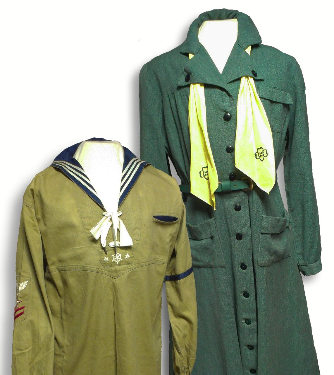 C Uniform Shirt Worn By A Member Of The First Girl