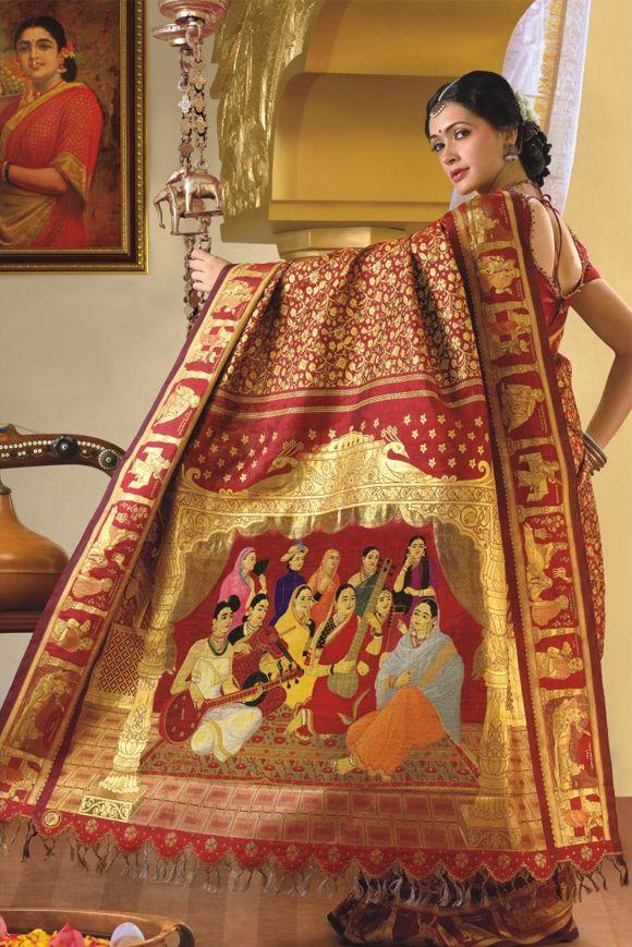 World's most expensive Saree A blend of creativity an