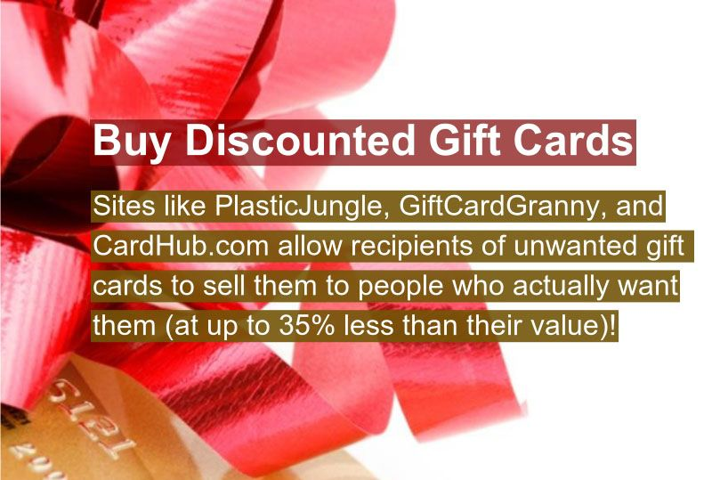 Buy Discounted Gift Cards - #LifeHack, #Tips, #Tricks