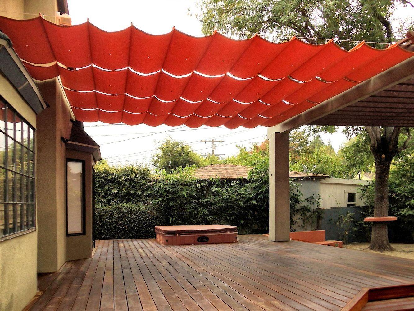 12 Inspiring Diy Deck Canopy Ideas Collection Backyard Shade Patio Shade Patio Canopy