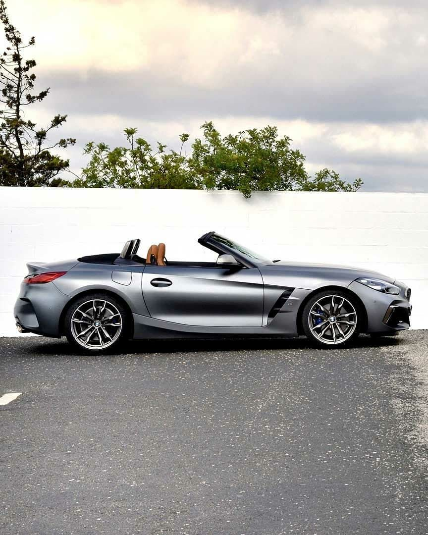 Bmw G29 Z4 M40i In Frozen Grey Ii Metallic Bmw Roadsters Coupes