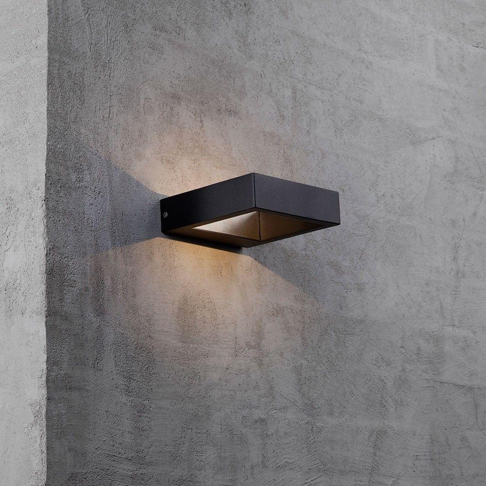 Nordlux Avon Led Aussen Wandleuchte Ip44 Schwarz 44911 Wandlampe Wandleuchte Lampen Aussen