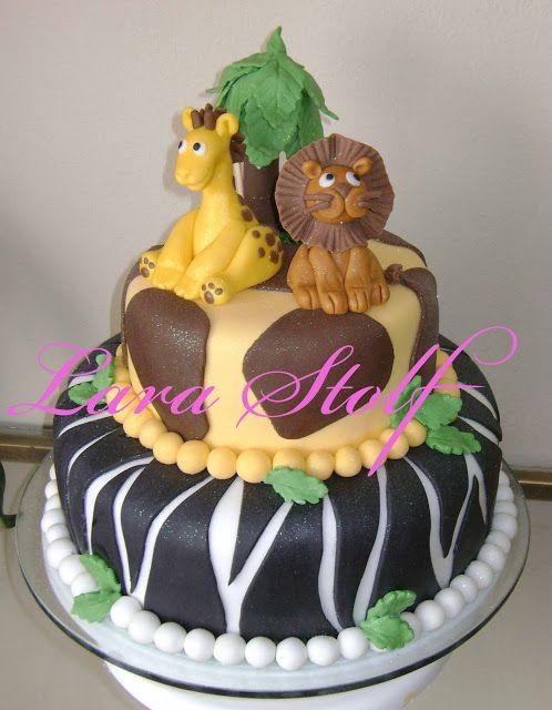 Fazendo a Minha Festa Infantil: Bolos para Festinha Safari!