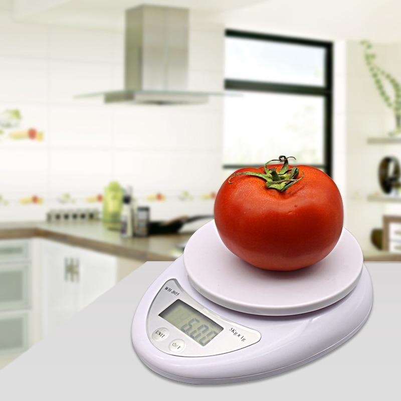 5 kg 5000g//1g électronique numérique Cuisine Food Diet postal Scale Weight Balance