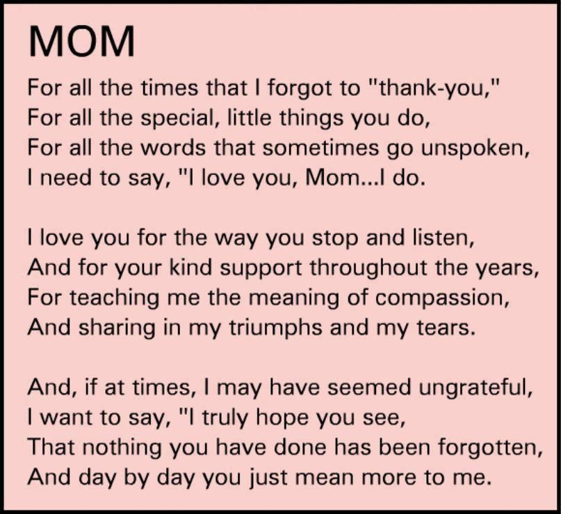 Honor Your Mother Wisdom Mom Quotes Thank You Mom Quotes Mom