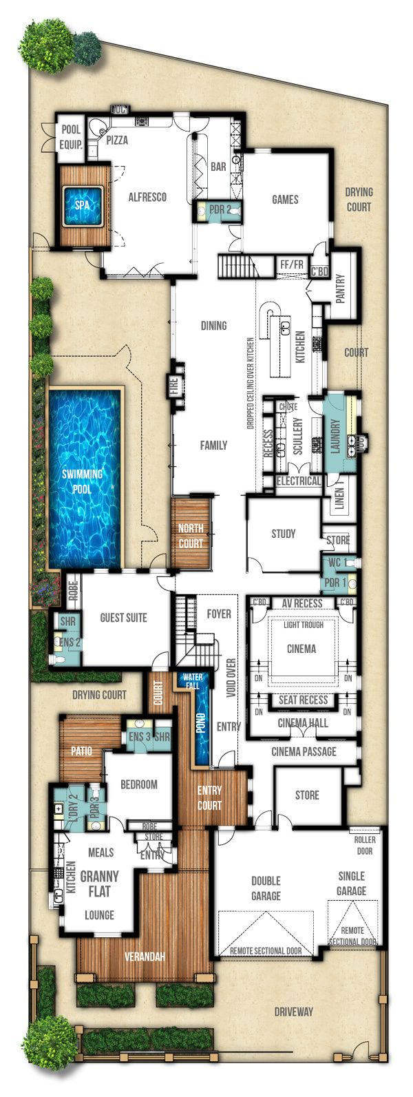 The Heritage Another Fabulous Home Design By Boyd Design Perth Dream House Plans Floor Plans House Design