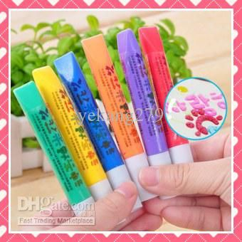 Buy cheap 24pcs Magical Popcorn pens 6 colors DIY Childrens toys squeeze the pencil Hands-on free shipping with $0.57-0.71/Piece|DHgate