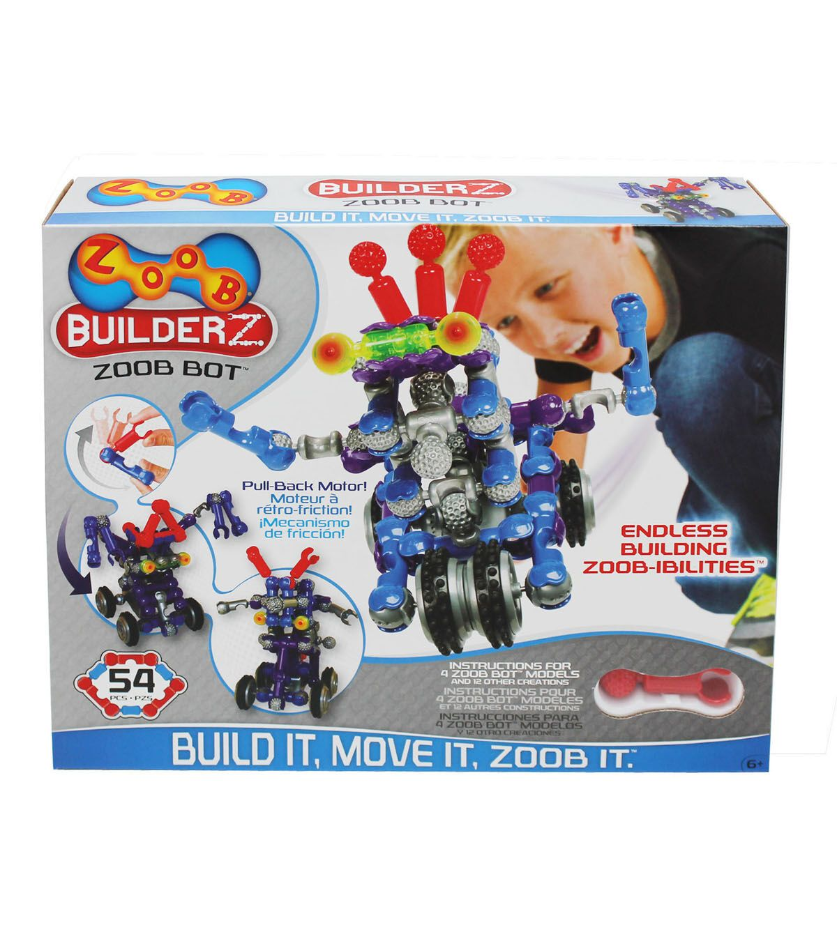 ZOOB BuilderZ BOT Building Set Educational toys for kids