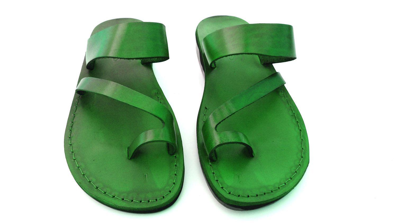 5a1bcbe20b9 New Leather Sandals MARISOL Women s Shoes Thongs Flip Flops Flats Slides  Slippers Biblical Bridal Wedding Colored Footwear Designer by Sandalimshop  on Etsy