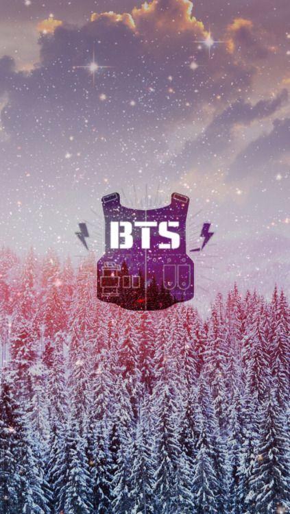 BTS Logo ♥ 방탄소년단 ♥ Pinterest BTS, Bts wallpaper and