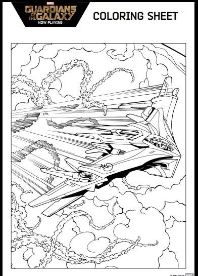 Guardians Of The Galaxy Coloring Pages And Activity Kit Printable Coloring Pages Coloring Pages Galaxy Colors