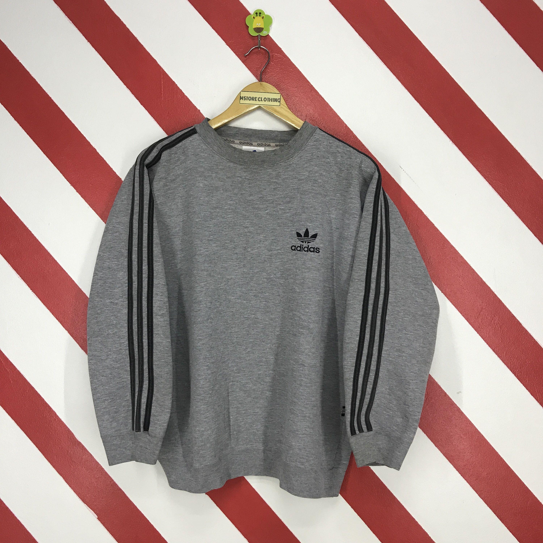Vintage 90s Adidas Sweatshirt Crewneck Adidas Trefoil Sweater Etsy Adidas Sweatshirt Sweatshirts Vintage Adidas [ 3000 x 3000 Pixel ]