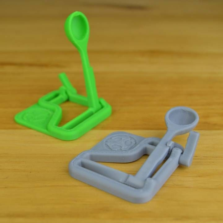 3D Printable Micro Catapult by Luke Tansell 3d printing