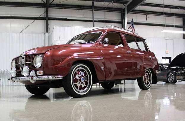 Again On Auction Fantastic 1967 Saab 95 V4 Saab Car Auctions Auction